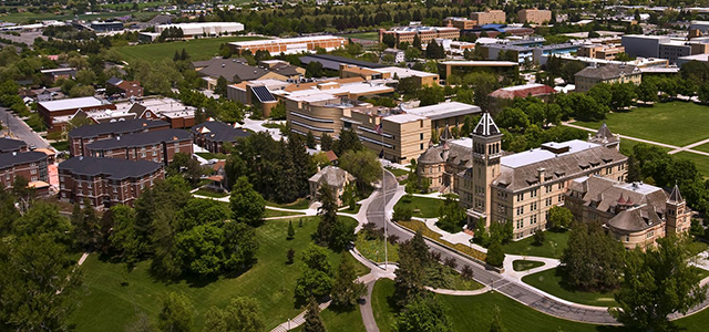 USU Campus from above.