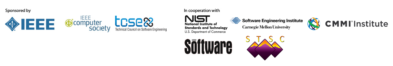 2013 Sponsors: IEEE and IEEE Computer Society